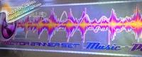 бесплатная доставка! 90*25 см мигает молния автомобилей звук музыки активированный эквалайзер светиться светодиодная вспышка комплект стикер сабвуфер 12 в