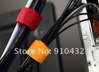 9 различных цвет красочный провод питания управления маркер ремни кабельные / организатор, на складе 500 шт./лот бесплатная доставка