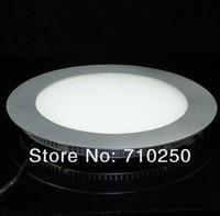 оптовая продажа 10 вт плоскопанельный потолочный светильник лампы 220 / 110 в теплый / холодный + бесплатная доставка