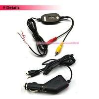 2.4 ггц беспроводной передатчик-прим для заднего вида фотоаппарат GPS и ориентироваться rwl04