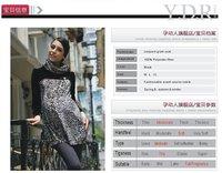 новый стиль беременная женщина одежды весна платье для беременных для беременных верх матери основные рубашка водолазка 3011005