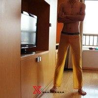 м . в . : и 92% полиамид низкая талия сексуальный мужчины в свободного покроя воздухопроницаемая сетка длинная брюки : mvf0a