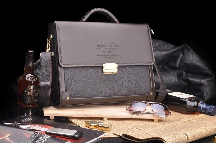 Aliexpress.com : Buy 2016 Composite Leather Men Business Bag ...