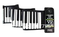 кремния гибкая 61 клавиш свернуть пианино клавиатура