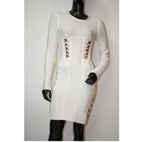 бесплатная доставка продавать новое поступление гл вечернее платье ярко-алмазные вырос комбо jacquared бандажное платье