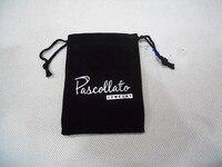 50 шт./лот 8 * 9 см перед flannelet ювелирные изделия сумки baht аксессуары упаковка мешок ювелирные изделия сумки с нажмите
