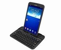 новые алюминиевые клавиатура чехол для галактики tab3. 8 дюймов т310, ультра тонкий алюминиевый связь Bluetooth клавиатура чехол для вкладке.3 т310
