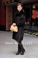 очень роскошь норка пальто длинная из сша