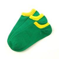 бесплатная доставка носки новый прекрасный невидимым конвертировать цвет хлопок