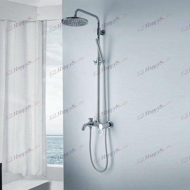 best shower faucet sets. EMS Free Shipping Single Handle Double Shower Rainfall Bathroom  Faucet Set H01030024 Lift To Dual Control Rain