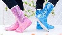 предотвратить дождь сапоги комплект из женский утолщение нижней ботинки мода водонепроницаемый дождь парень гало