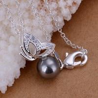 бесплатная доставка! женская жемчуг, серебро 925 баба подвеска в форме с cubic циркон милостыню, цена от производителя