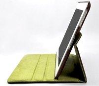 прямая поставка и горячая распродажа вращающийся кобура для iPad2 с бесплатная доставка