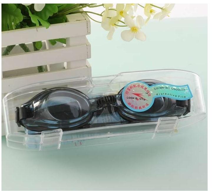 для взрослых плавать очки плавательные очки с коробка не анти-туман отправить затычки для ушей