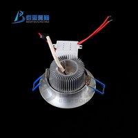 электропитание 10 шт. / лот 85 ~ 265 в 3 х 1 Вт из светодиодов день белый потолок лёгкие для для дома