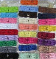 """10 100 1$, 5 """" вязка крючком ободки вафельная ткань ободки для младенцы малыша девочки 24 шт. / много"""