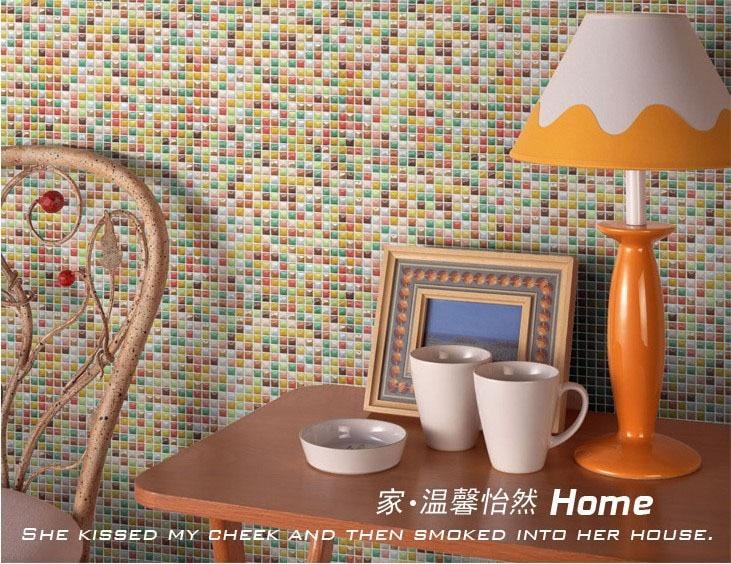 Aliexpress.com: koop kleur kinderkamer badkamer wc keuken mozaïek ...