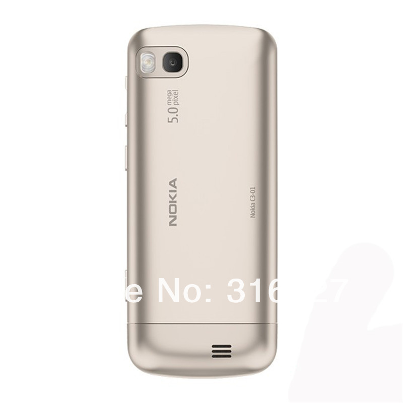 Refurbished phone Nokia C3-01 Touch and type 5MP Wi-Fi FM radio Touchscreen cell phone grey 12