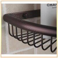 l15226-Роско гнездо lat Glow полка Bronze отделка углу ванная комната собственной