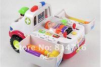 бесплатная доставка! дети пластиковые скорой помощи мини-игрушка