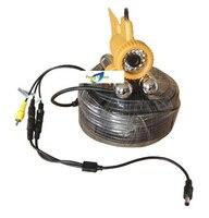 1 шт. / лот 164 футов ПЗС цвет ик подводной съемки видео для рыбалки камера с 50 м кабель