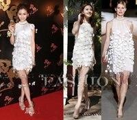 платье, весна лето европа америка принцесса Seal рос плеча полиуретана marla платья GR кость