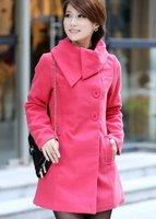 осень зима платье оптовая продажа Worth ткани пальто Doug шерсть широкая леди пальто с KX-as0006