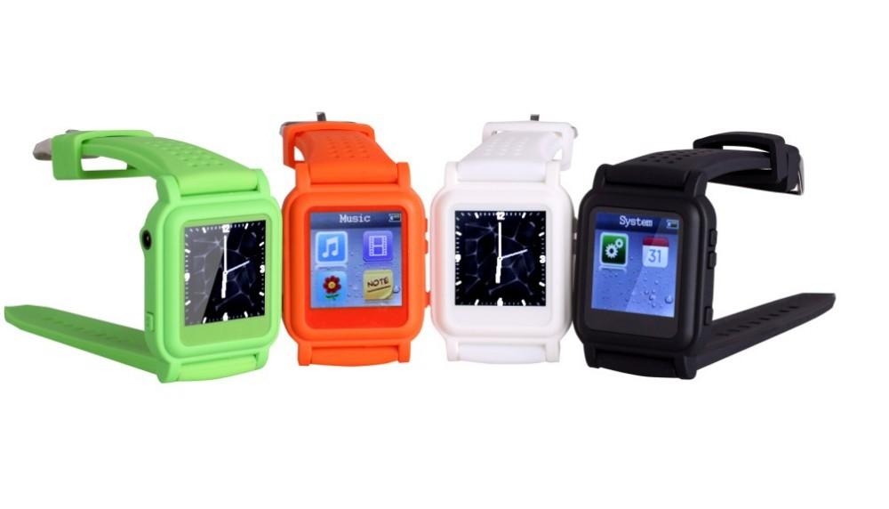 бесплатная доставка q668 часы мп4 плеер