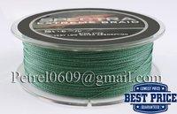 пэ волокна dyneema плетеной 100 м 0.12 мм зеленый спектры супер сильный бесплатная доставка