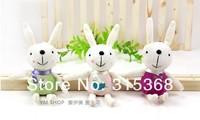 супер милый наполненный кролик для автомобиль кулон метоо плюш кролик украшение подарок 12 шт. / много