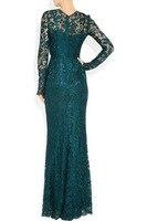 звезда из того же пункта мода Роско ladieslong платья из kruger платье с вышивкой Банкетный вечерняя одежда