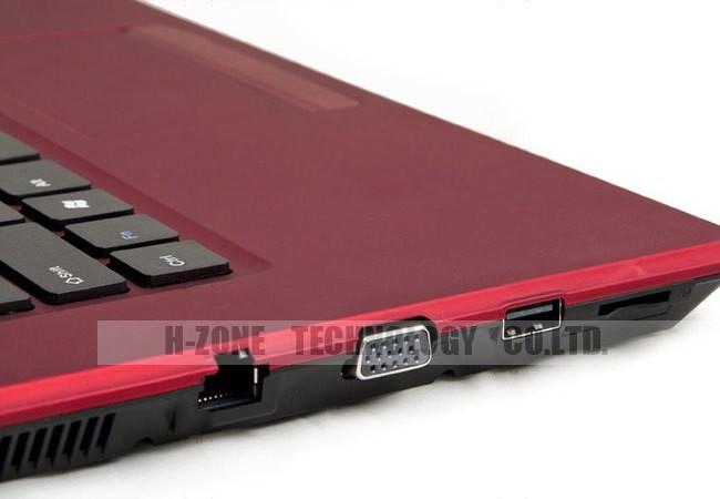 ноутбук тонкий ноутбук компьютер 14 дюймов с процессором Intel d2500 ноутбук 4 гб оперативной памяти DDR3 500 Гб диск ST встроенный беспроводной Wi-Fi интернет DVD-диск