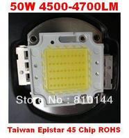 50 вт из светодиодов модуль, epistar и Taiwan обломок 45mil Сид, 4500-4700lm стоял Funk, Integra МО источник света, одобренное RoHS