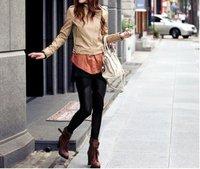 новое поступление хлопок кожа модный стиль женские леггинсы мягкие удобные леди брюки