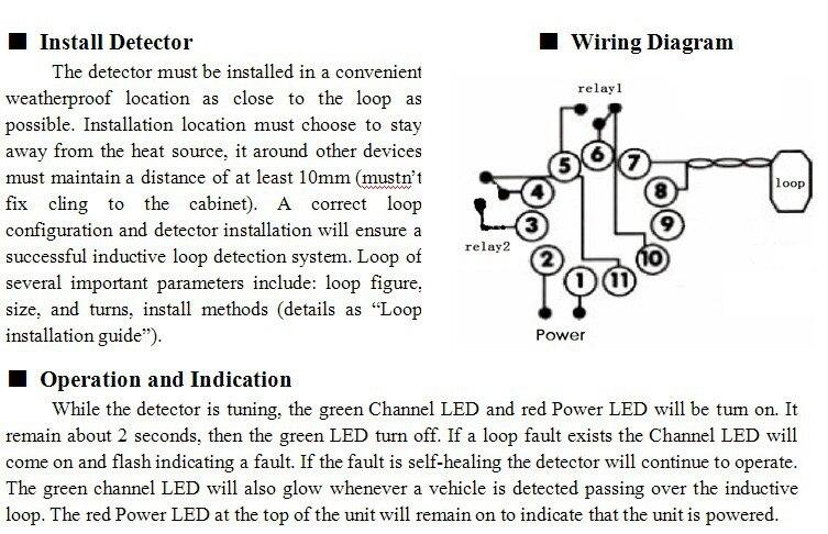 Traffic Inductive Loop Vehicle Detector Signal Control