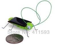 прибытие солнечный игрушка солнечный кузнечик, зеленый подарок, мини-прекрасный 10 шт. / много