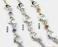 бесплатная доставка мода шарм стиль браслеты для леди подарок кристалл оптовая продажа