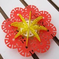 1 упак. = 150 шт. родитель - ребенок образовательные игрушки, качество снежинка блоки игрушки, развивающие разведки классический подарок для ребенка cl0357