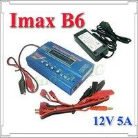IMAX и на B6 2 - 6 с LiPo для RC баланс зарядное устройство и 12 в 5А AC бесплатная доставка