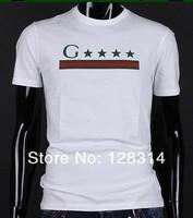 бесплатная доставка новые люди мода дизайнеры бренд футболки человек о-бюстгальтер шеи рубашки с карате Recover размер М L хl ххl