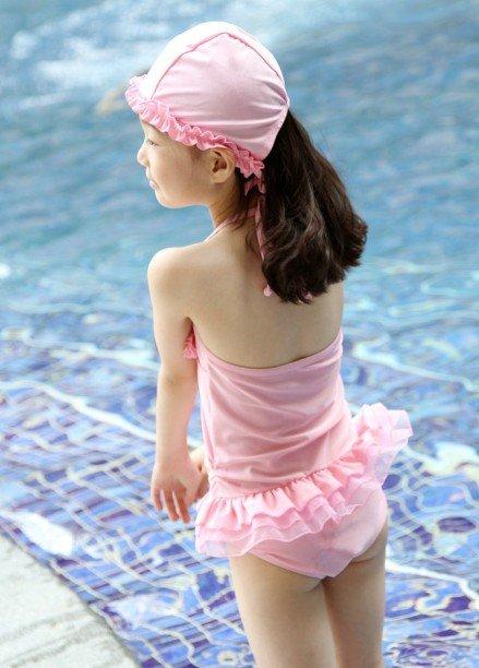 девочка бикини 2 ~ 9 т красивый дети / ребенок плавание много стилей