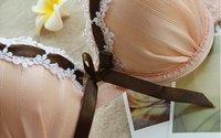 Бесплатная доставка - оптовая продажа - женская синий женские бюстгальтеры сексуальное белье трусы дамы япония нижнее белье abc кружка # 234