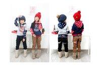 бесплатная доставка мода мальчик и девочка прекрасные дети брюки для осень и весна опт и Роза