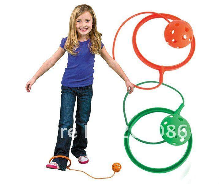 trialsale 10 pcs enfants cheville hopper balle jumping ball billes