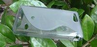 бесплатная доставка 20 шт. линия тпу гель чехол для сони Xperia идти st27i с отличным качеством