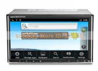 """7 """" универсальный 2 дин тире DVD-плеер с андроид, GPS и DVB-т мр5 1080 р с iPod функция RDS функция Bluetooth вздрагивания 6.0 офис 3 г беспроводной доступ в интернет"""