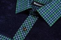 весна свободного покроя длинный рукав комфортно утолщение Scotland рубашка для мужчины petal подходят большой размер S-Размер 4xl