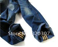 новый стиль топ бренд ДС кнопки классический дизайн брюки прямые джинсы размер 28-38 размер бесплатная доставка авиапочтой