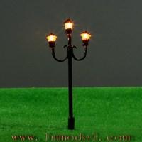 торги 25 шт модель фонарный столб весы черный сад фары 12 В 5, 5 т49 см