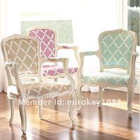 mirokey элегантный античный деревянный кресло